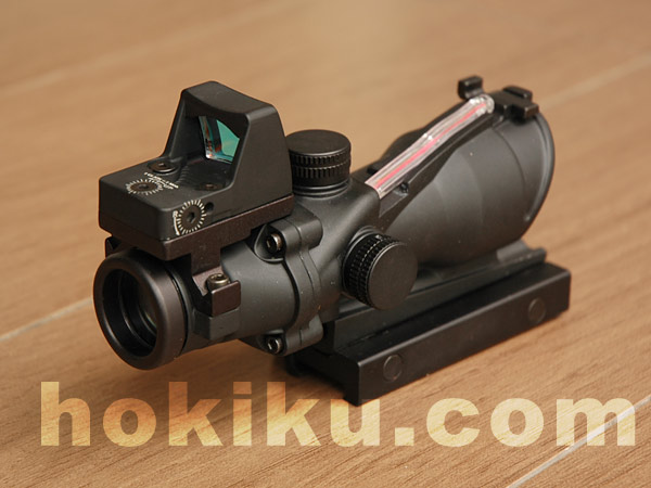 Optic Enhance - ACOG 4x32 tritium with RMR micro red dot
