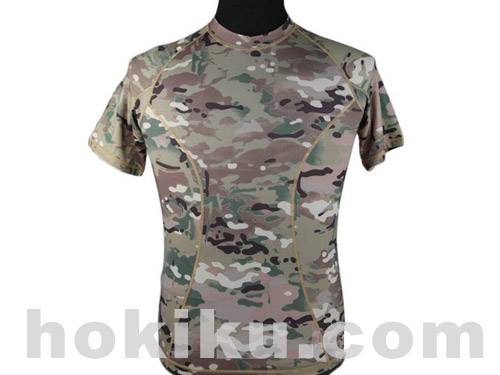 Emerson Base Layer Camo Shirt - Multicam/Mandrake/AOR2/ATACsFG