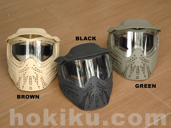 Full Mask Emerson - Black /  Brown