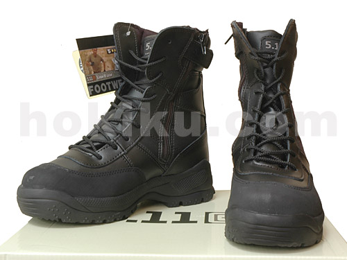 Tactical Shoes Type 511 Zipper - Black