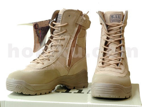 Tactical Shoes Type 511 Zipper - Brown