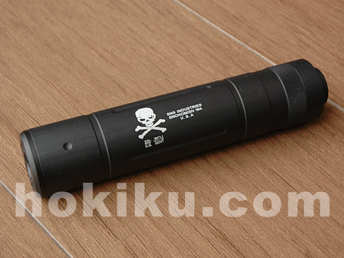 Silencer 155 mm - Skull / Seal Frog (CCW)