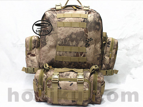 Backpack Combine Bag - MULTICAM / ACUPAT / TYPHON / NOMAD